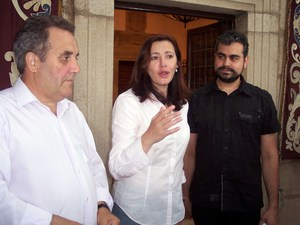 Blas Raimundo, Elia Blanco y Victor Cerro
