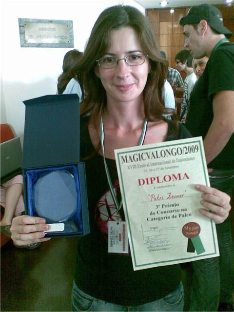 Patri Zenner con Premio
