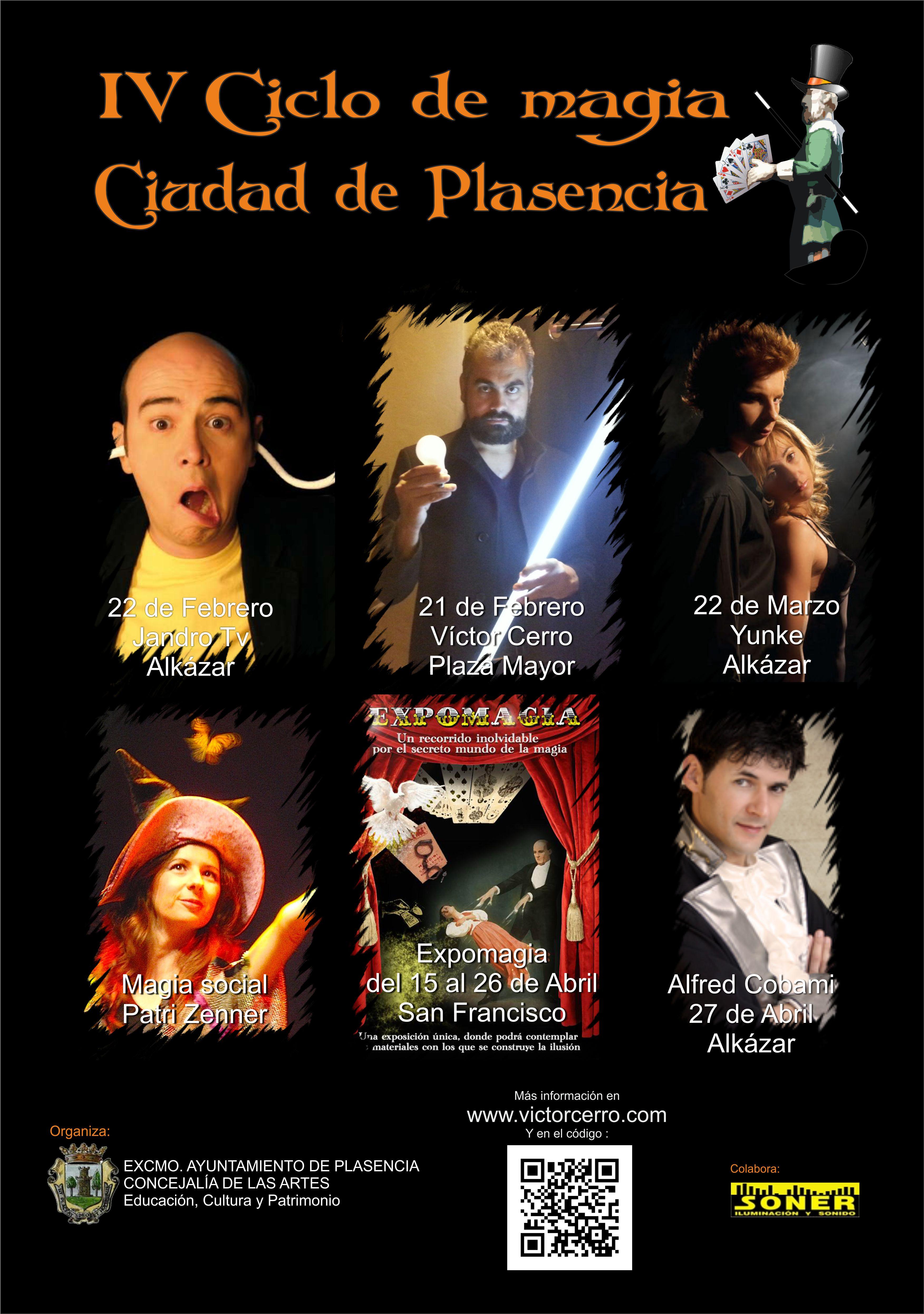 Ciclo magia 2013 Plasencia