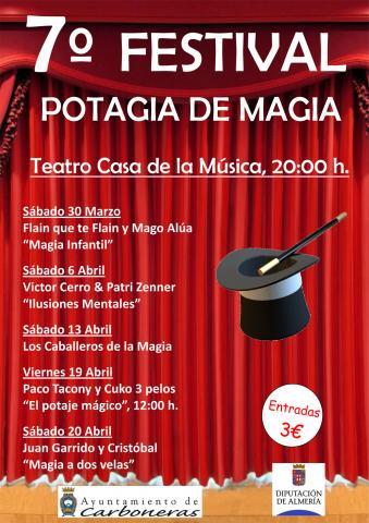 AYTO. CARBONERAS. VII Festival Magia Potagia
